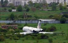 Изоставен самолет в Разград