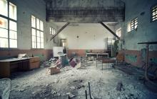 Пуста класна стая