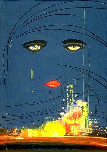 Корицата на романа е майсторска изработка на художника Франсис Кугат.