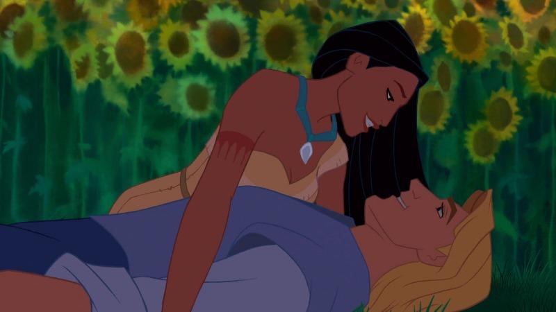 Pocahontas & John Smith Sunflowers
