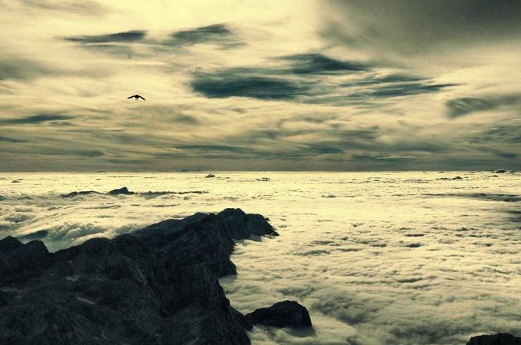 Алпите.  Безкрайност.  Снимка - Боян Симеонов
