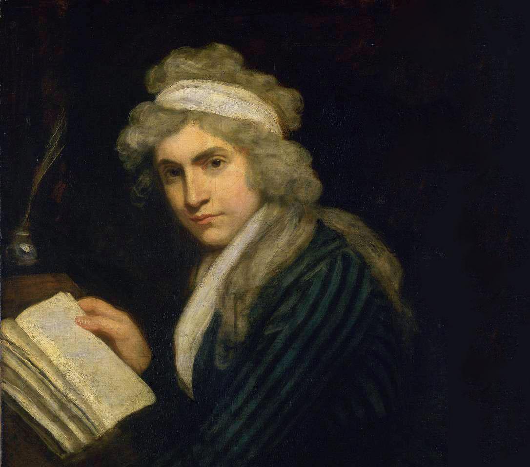 Портет на Мери Уолстънкрафт от Джон Опи, 1790