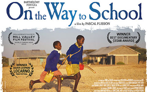 On The Way To School poster 1