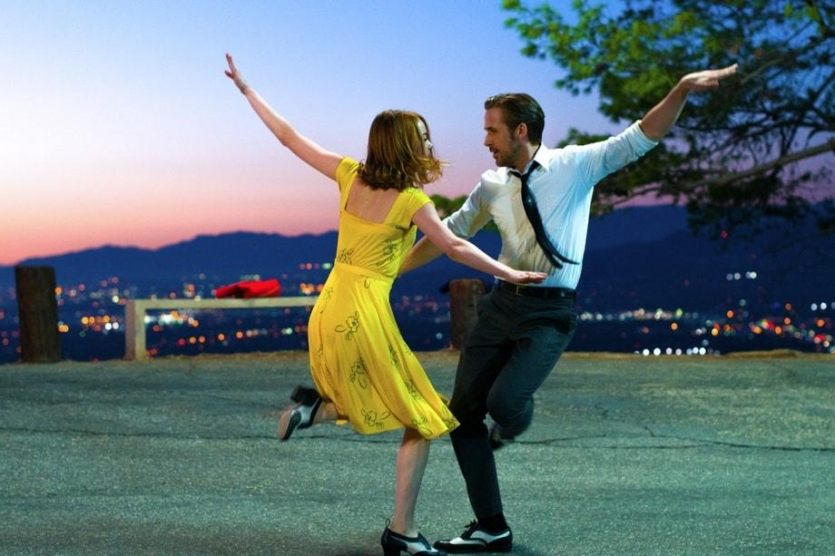 Ема Стоун и Раян Гослинг в 'La La Land'