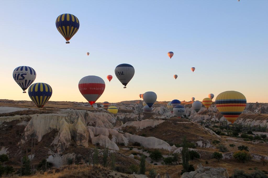 Пътешествие до Турция: Каш, Сиде, Коня и с балон над Кападокия