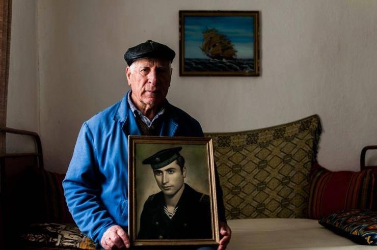 Старият моряк.  Снимка - Александър Николов