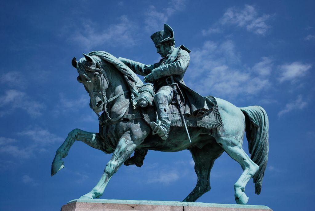 Statue équestre de Napoléon