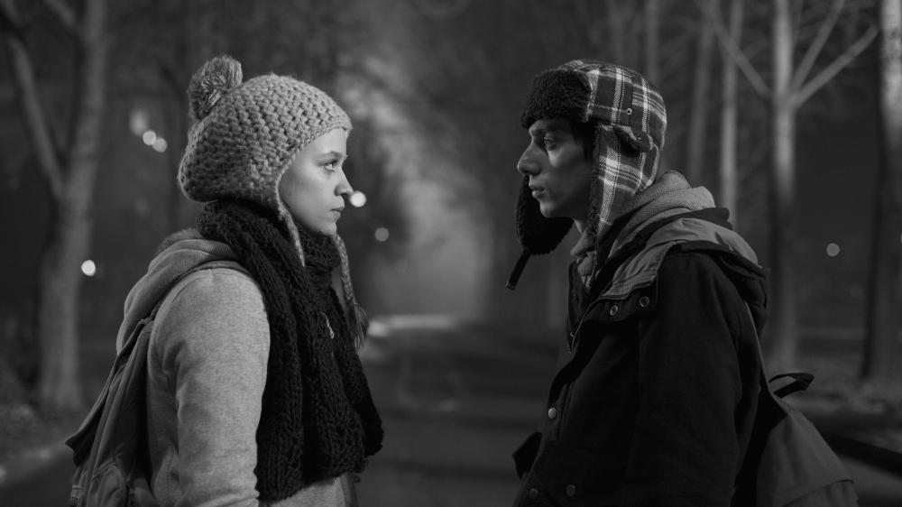 """Снимка: Елена Телбис и Ованес Торосян в кадър от """"Каръци"""""""