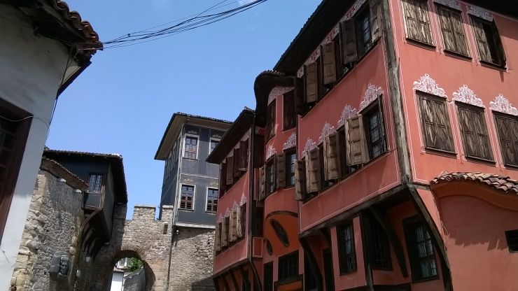 Археологияеския музей в Стария Пловдив Снимка: Личен архив