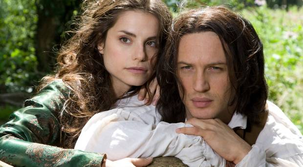 Tom Hardy and Charlotte Riley, Wuthering Heights (2009)