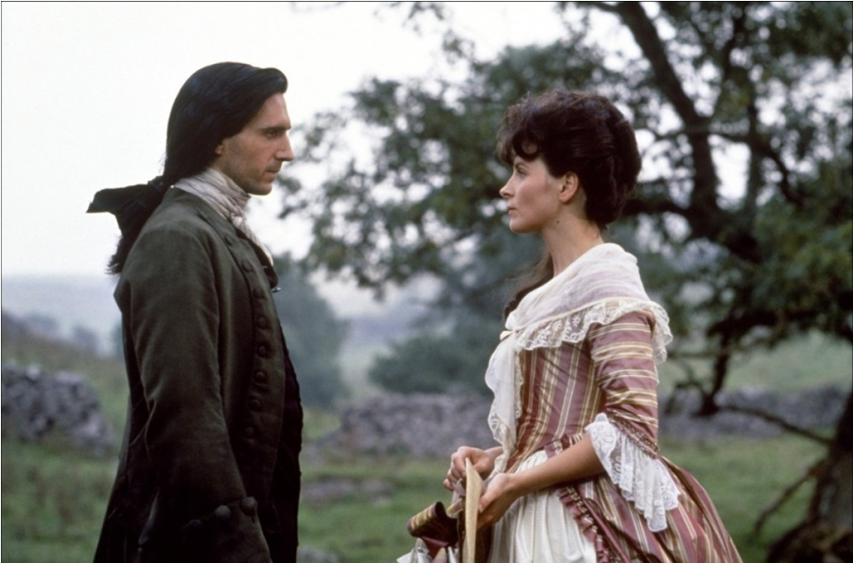 Ralph Fiennes and Juliette Binoche, Wuthering Heights (1992)